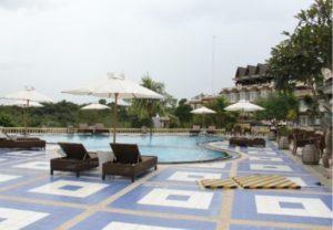 kolam berenang sahid raya bintan beach resort