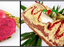 resep cake buah naga khas batam