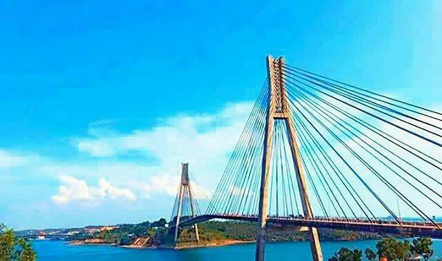 15+ Trend Terbaru Cara Menggambar Jembatan Barelang - The ...